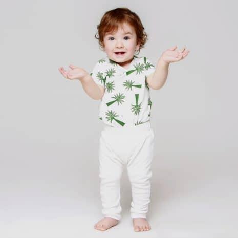 calça branca de algodão pima orgânico