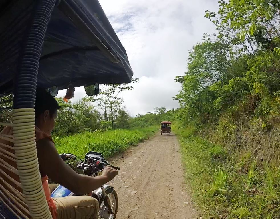 No caminho do algodão orgânico de Tuk Tuk - Juanjui, Peru - Timirim 2016