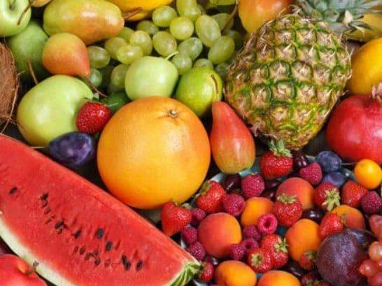 frutas brasileiras - abacaxi e melancia