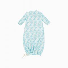 Pijama Troca Facil de algodão pima orgânico estampa passaros