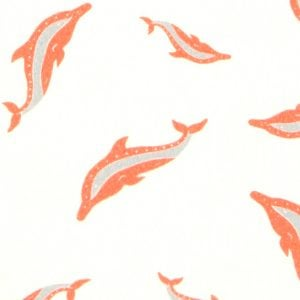Estampa Golfinhos por J. Borges