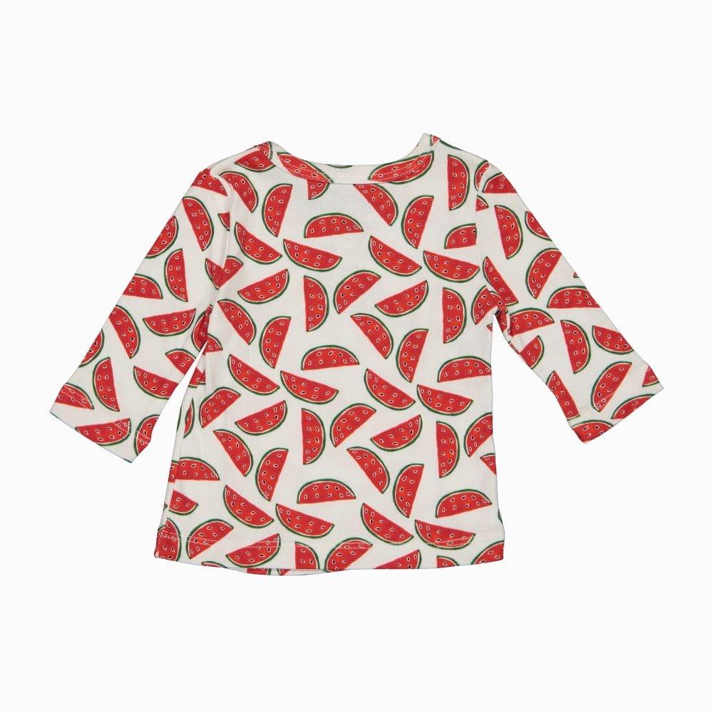 Cardigan Kimono em algodão pima orgânico estampa costas