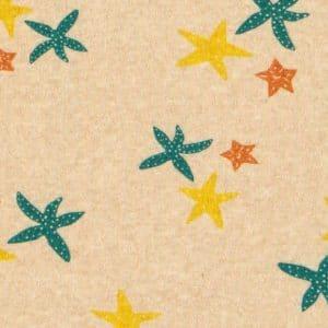 estampa estrelas do mar por J. Borges