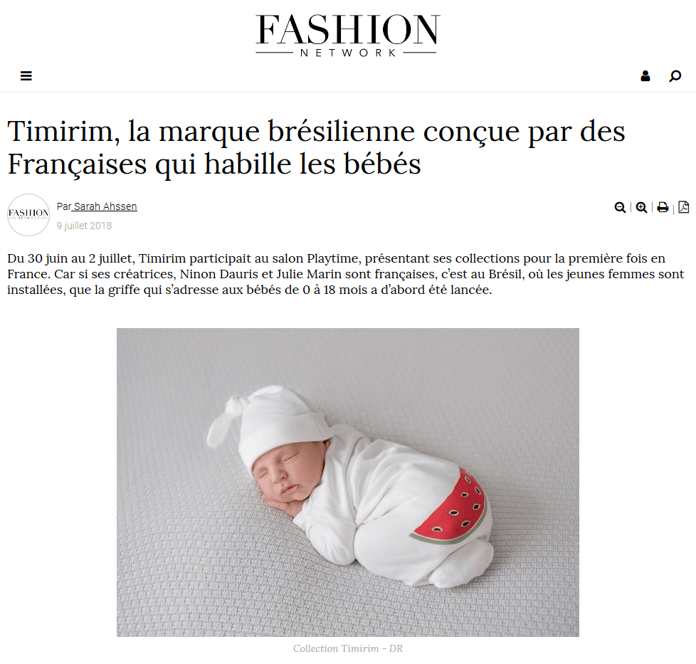 Fashion Network, julho 2018