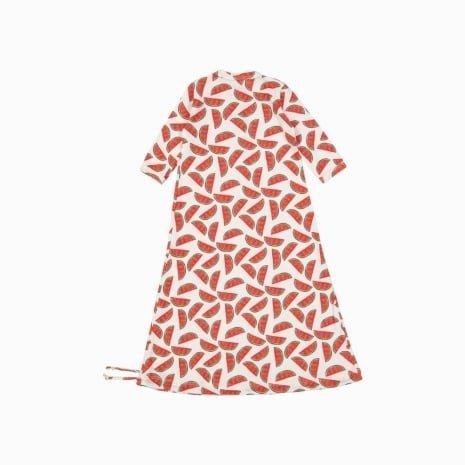 Pijama Troca Facil de algodão pima orgânico estampa melancia