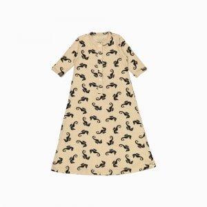 pijama troca facil de algodão pima orgânico estampa cavalos marinhos
