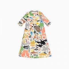 pijama troca facil de algodão pima orgânico estampa oceano