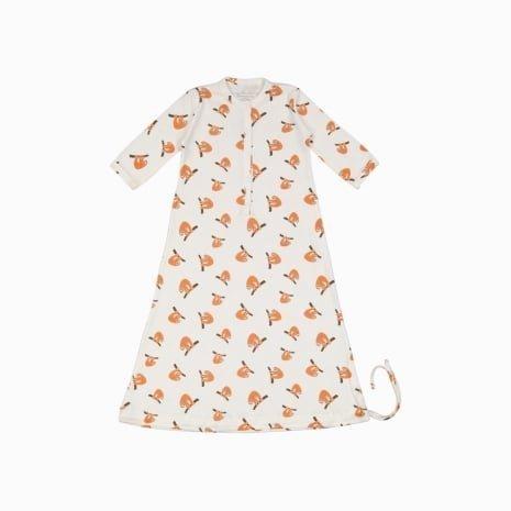 Pijama Troca Facil de algodão pima orgânico estampa preguiças