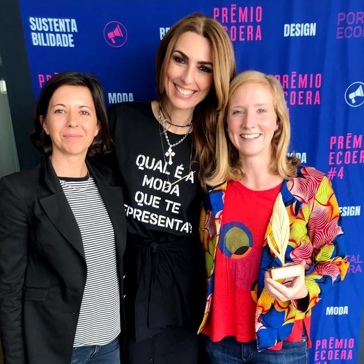 Prêmio ECOERA, novembro 2018 (foto da premiação)