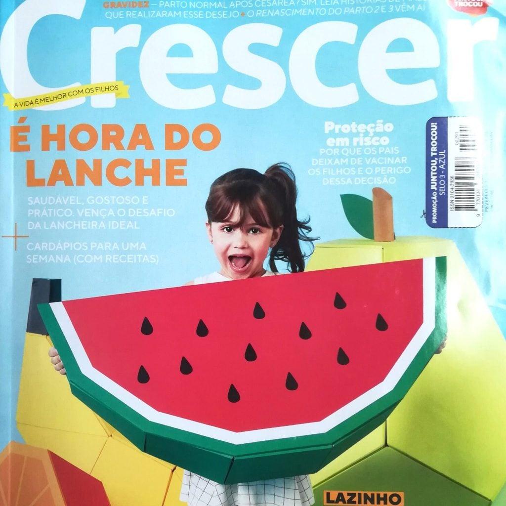 Revista Crescer, fevereiro 2018 (capa)