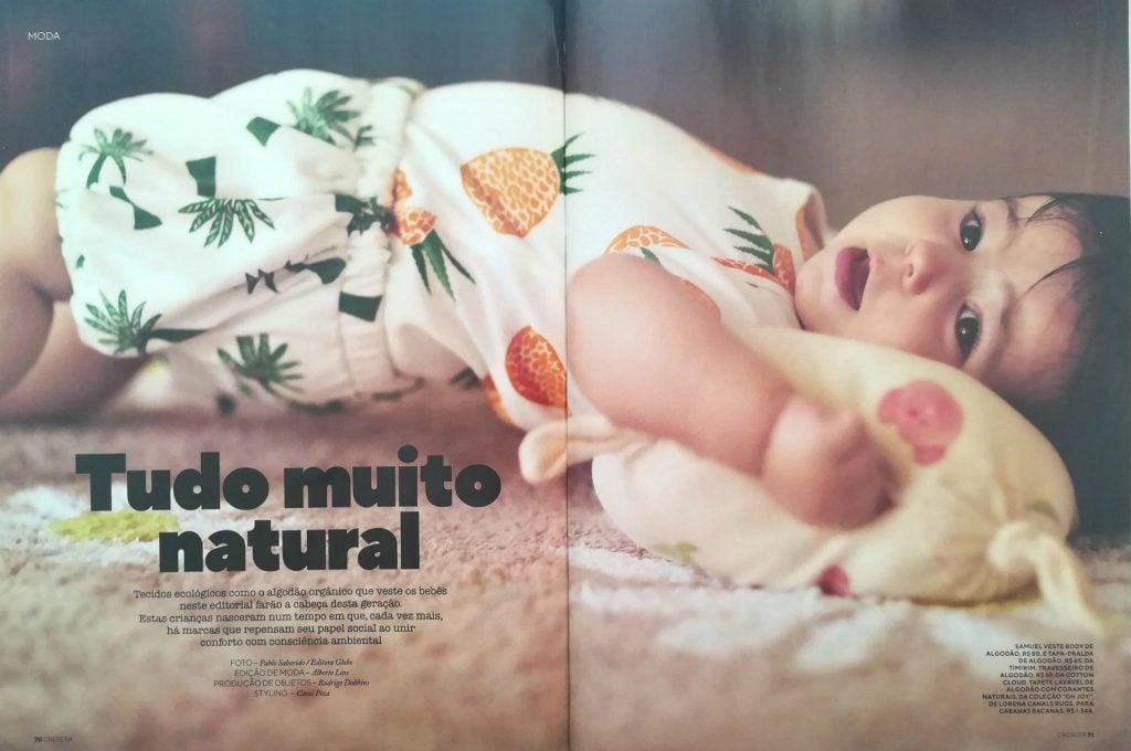 Revista Crescer, janeiro 2019 (página dupla)