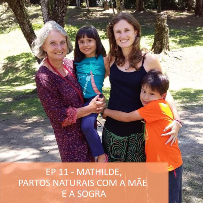 Podcast timirim Ep11 Mathilde maternidade gravidez e parto