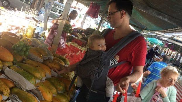 Luciano, pai de três, a frente de seu tempo