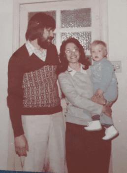 Anete, recusar os padrões nos anos 70, dos estudos aos três bebês