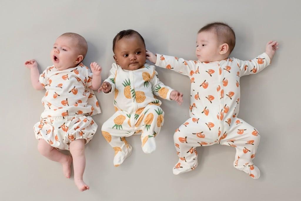 tres bebes menino e menina de Timirim unissex