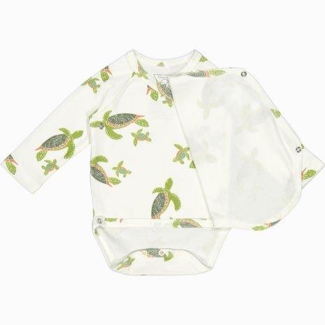 body kimono manga longa algodão pima orgânico