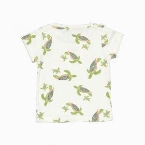 camiseta de algodão pima orgânico