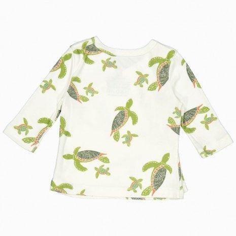 cardigan kimono de algodão pima orgânico