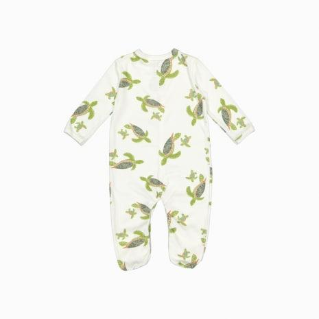 pijama macacão de algodão pima orgânico costas