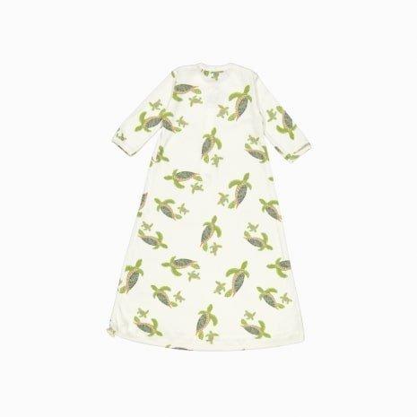 pijama troca facil de algodão pima orgânico costas