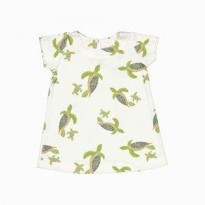 vestido de algodão pima orgânico