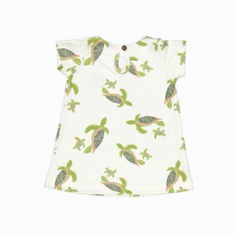 vestido de algodão pima orgânico costas