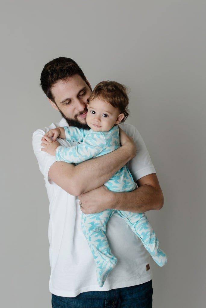Pai e filho na criação Timirim Coleção 2018