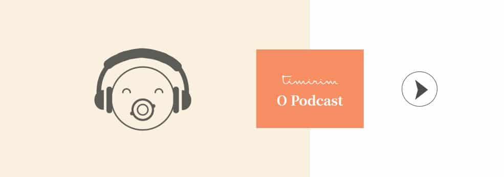 Capa do podcast da Timirim