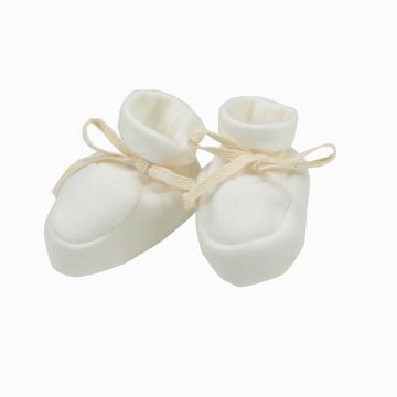 sapatinhos de algodão pima orgânico para recém nascido