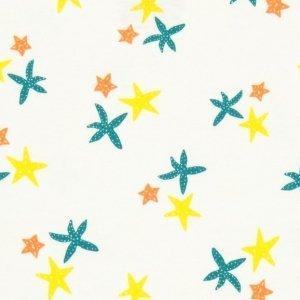 Macacão Pijama trio de estrelas algodão pima organico