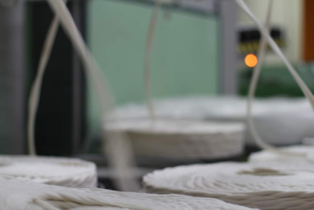Processo de fiação de algodão orgânico Timirim blogpost 8
