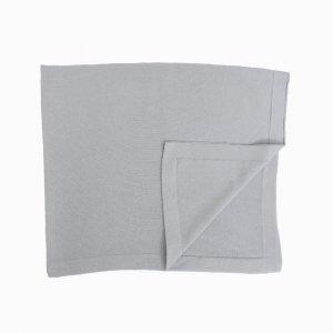 manta de trico de algodao organico cinza