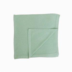 manta de trico de algodao organico verde
