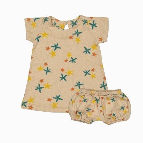 vestido e tf estrelas do mar