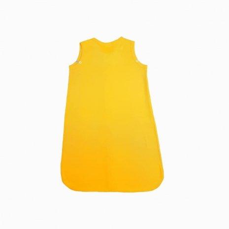 saco de dormir verao amarelo costas