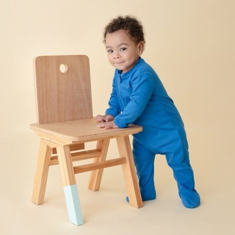 macacao pijama com ziper azul