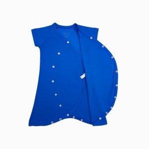 macaquinho kimono azul klein