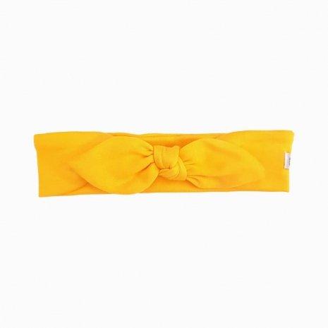 faixa de cabelo amarelo sol