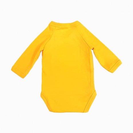 body prematuro kimono amarelo costas
