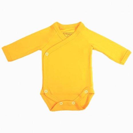 body prematuro kimono amarelo
