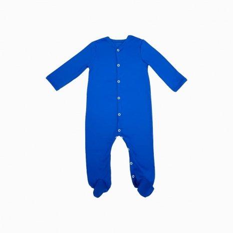 macacao pijama para bebê azul