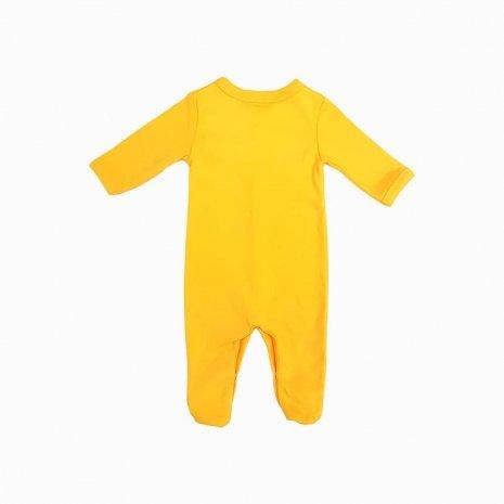 macacao bebe prematuro amarelo costas