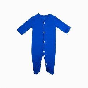 macacao bebe prematuro azul