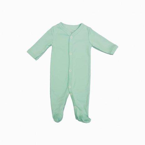 macacao bebe prematuro verde