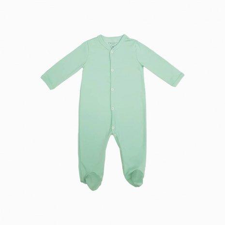 macacao pijama verde claro