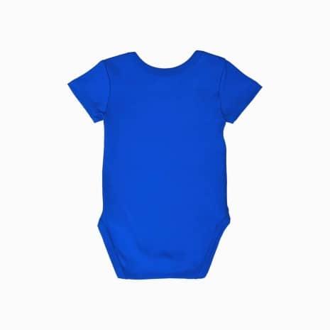body classico manga curta azul klein costas