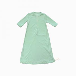 pijama troca facil verde claro aberto